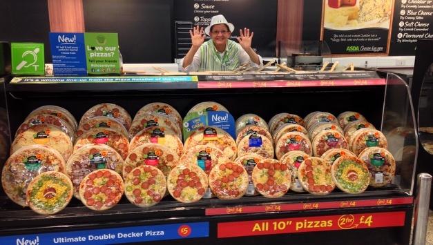 Asda pizza make your own